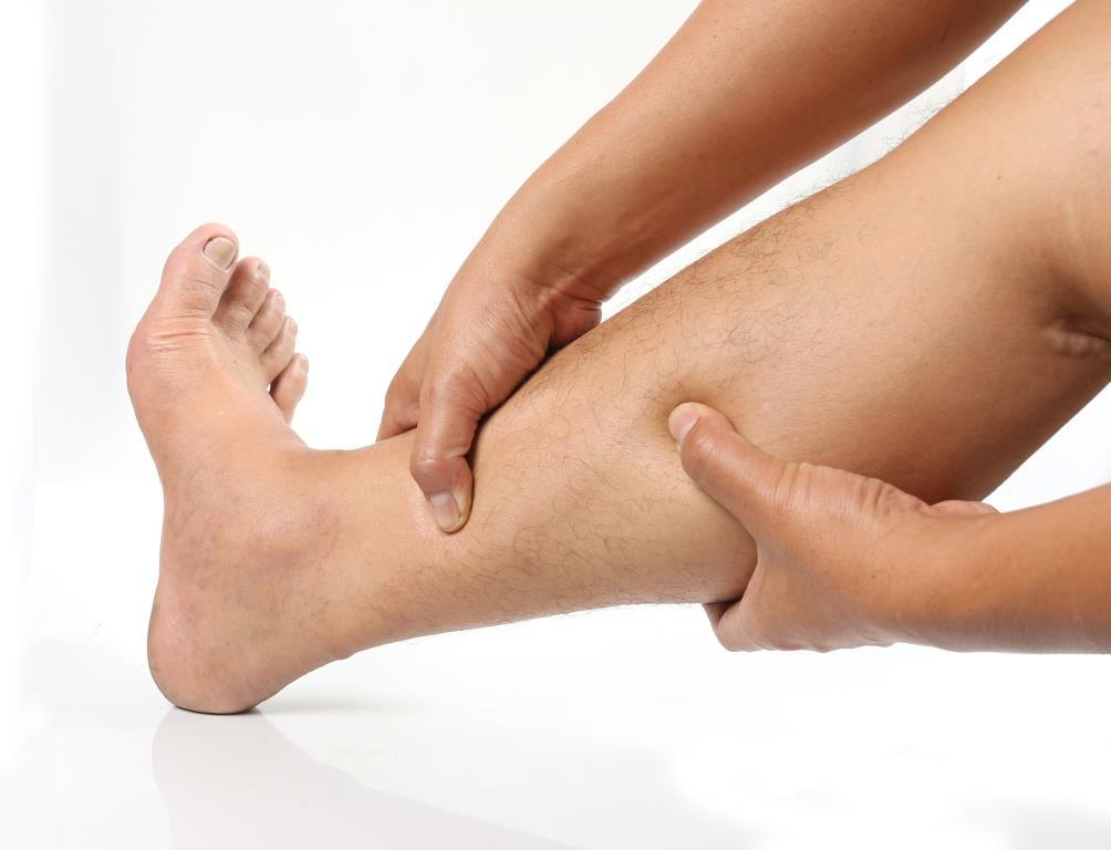 vörös láb jelent meg a lábfotó-kezelésen