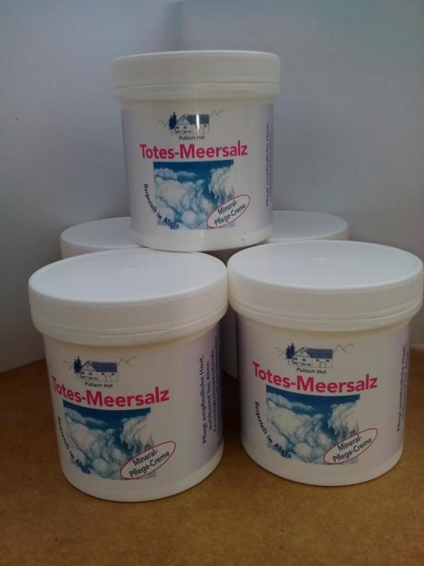 Vom Pullach Hof Holt-tengeri só krém (bőrbetegségek kezelésére) 250 ml